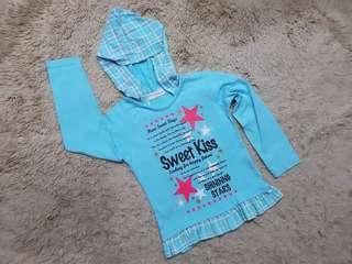 Shirt hoodie 4y