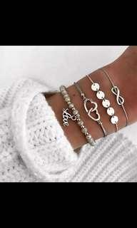4 piece bracelet set