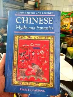 *Free Mailing*Chinese Myths and Fantasies Retold by Cyril Birch