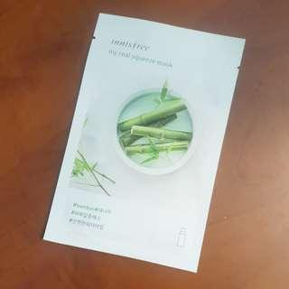Innisfree Bamboo My Real Squeeze Mask