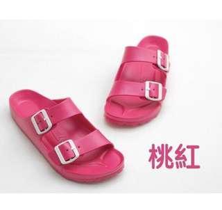 🚚 Airwalk 桃色防水拖鞋 7號