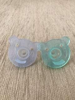 Philips Avnet Soothie Shapes Pacifier. 2pk - Green/Blue
