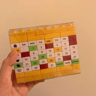 🚚 積木行事曆