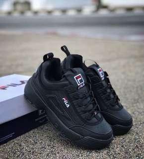 Fila Disruptor 2 All Black Size 40