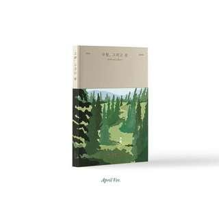 EXO CHEN Solo Album 'April, and a flower' - April Ver / Flower Ver