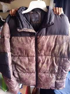 Bershka puffer jacket jaket gunung musim dingin stocklot