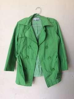 Zara basic parka coat