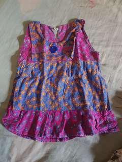Mididress batik 6-12bulan