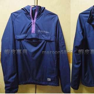 LEE 藍紫 機能 衝鋒衣 風衣 帽T 外套 束口 3M 反光 Logo 連帽 上衣 潮流 街頭 經典 off