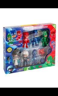 PJ Mask Toy Set Action Figurines (6PCS)
