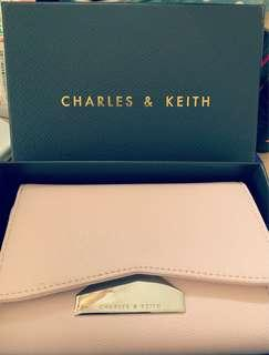 Charles & Keith Wallet (Pink)