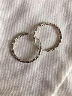 🚚 925 Silver Ring Earring