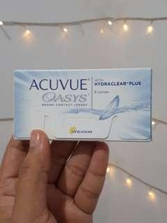 Acuvue oasys soft lens