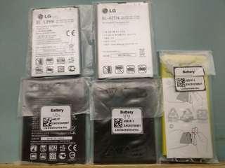 Lg v20 v10 g3 g4 g5 g pro2 styles 2 original battery