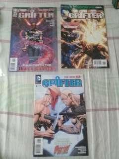 Dc comics grifter # 6,8,13 bundle