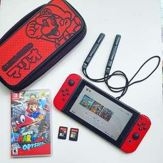 Nintendo Switch Super Mario Odssey limited edition