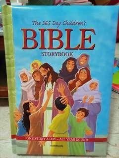 🚚 The 365 Day Children's Bible Storybook
