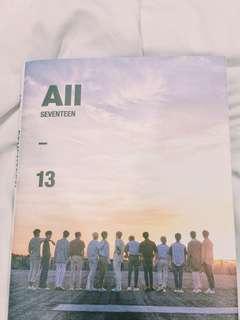 "Seventeen Album ""ALL"" ver."