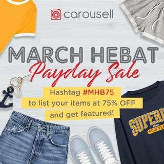 March HEBAT Pay Day Sales
