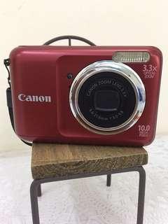 camera canon powershot A800