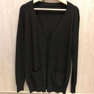🚚 長版薄針織外套