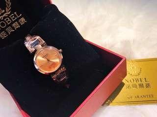 🚚 NOBEL 女性時尚腕錶