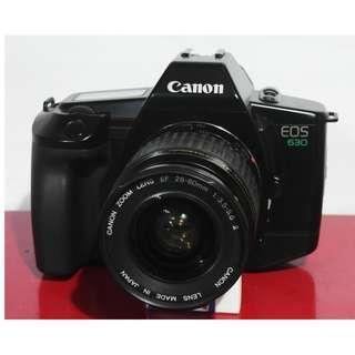 CANON EOS 630 自動對焦 單眼底片相機+CANON EF 28-80mm鏡頭