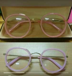Kacamata gucci pink