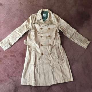Korean Long Coat / Trench Coat
