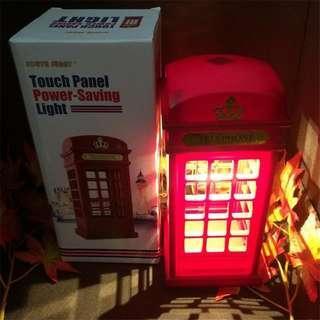 Telephone booth Night light