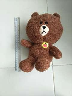 Line Brown stuff toy about 30cm