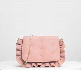 Charles and Keith Ruffle Detail