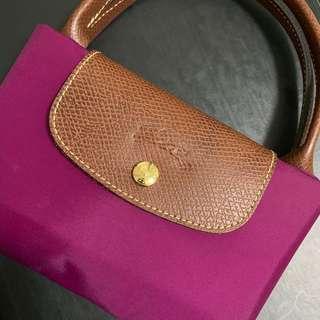 🚚 Longchamp Le Pliage Medium in Fuchsia