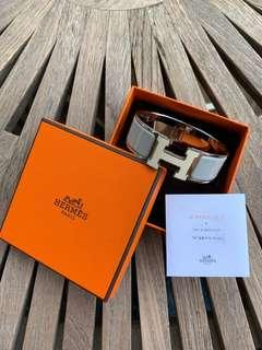 "Authentic Hermes The ""H"" Bracelet"