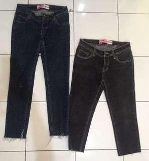 Celana jeans 7/8 @40000