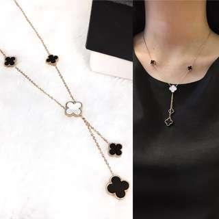 Van Cleef and Arpels Magic Alhambra Necklace With Pendant