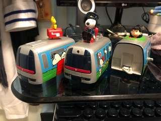 Snoopy史努比XMTR 火車玩具