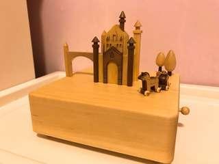 城市音樂鈴 城堡 Music box Wooderful Life