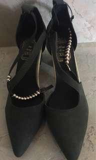 Mid heel dark green