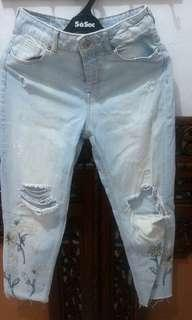 Jeans ZARA authentic (ripped jeans)