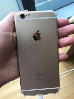 🚚 iPhone 6, gold