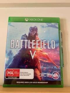 Xbox One Battlefield V - Like new condition - No scratching