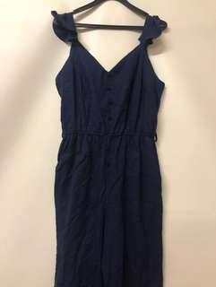 🚚 Dark blue romper
