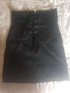 Bardot corset skirt.