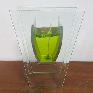 BN*** Gel Candle in holder stand