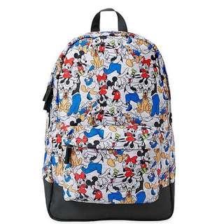 🚚 美國 迪士尼 正版 滿版 包包 後背包