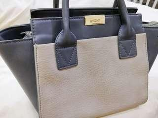 Blue Grey handbag
