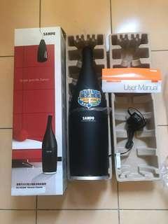 SAMPO 全新聲寶手持充電式電動滾刷吸塵器EC-HC04N #半價良品市集