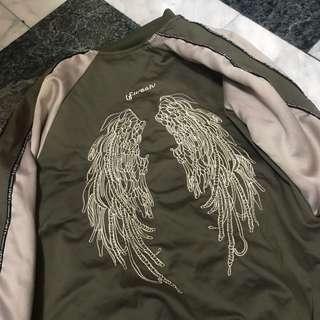🚚 綠色外套 防風外套