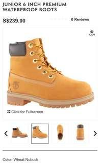 ec4471aaef23 TIMBERLAND ICON JUNIOR 6 INCH PREMIUM WATERPROOF BOOTS